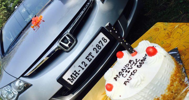 Autogenius cake hungry honda civic