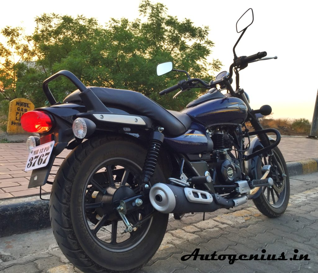 Bajaj-Street-Avenger-150-rear-12