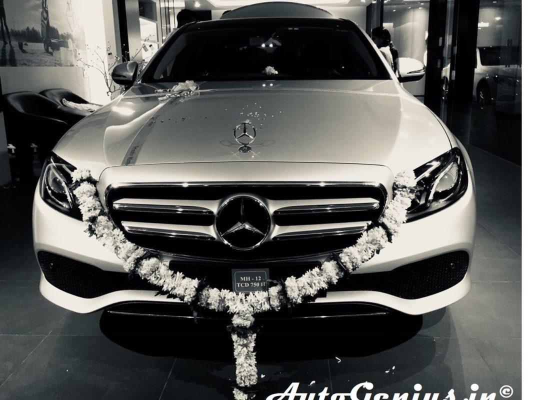 Autogenius New Mercedes benz e class 220d Sanjay Shah SIL